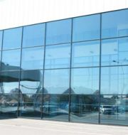 Glass front walls